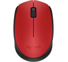 Logitech M171 Wireless Red