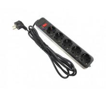 3m Maxxtro 5 розеток (SPM5-G-10B) black