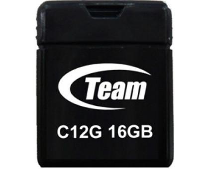 Team 16Gb C12G Black USB 2.0 (TC12G16GB01) Міні корпус