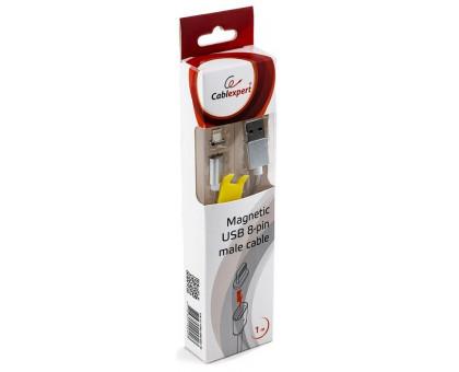 Apple Lightning USB Cablexpert (CC-USB2-AMLMM-1M) магнітний