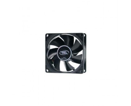 DeepCool XFAN 80 80*80*25мм, Sleeve, 4pin, 1800RPM, чорний пластик