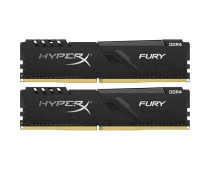 Kingston 16Gb (2*8Gb) 3200MHz HyperX FURY Black (HX432C16FB3K2/16) BOX