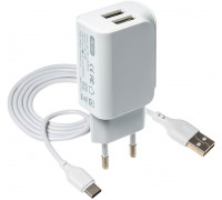 XO L36 White + кабель USB Type-C