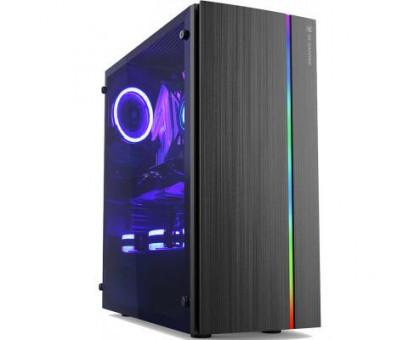 2E gaming SPARGO (GХ910) MidT,2*USB3.0,ARGB стрічка, акрил(бок.панель),без БЖ,чорний