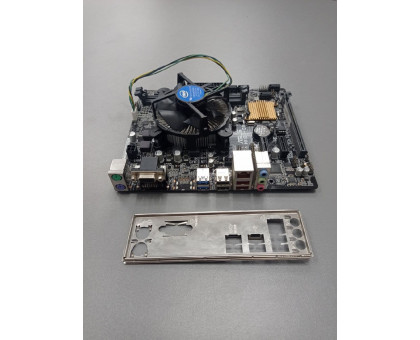 Asus H110M-CS + Intel Pentium G4400