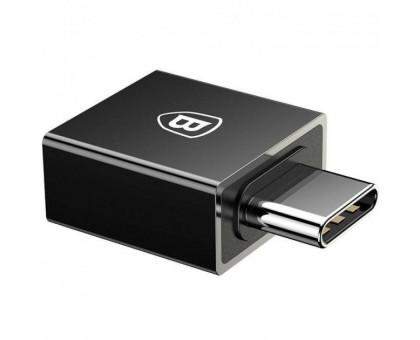 USB OTG Baseus (CATJQ-B01) чорний (USB Type-C->USB)