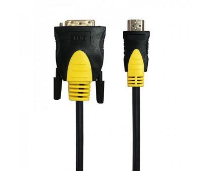 HDMI->DVI-D  1.8 m Maxxter (CCBP-HDMI-DVI-1.8) чорно-жовтий